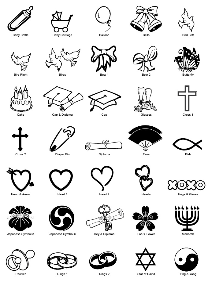 Symbols And Their Meanings List Animalcarecollegefo