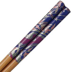 Bamboo Blue Moonlit Stream Chopsticks