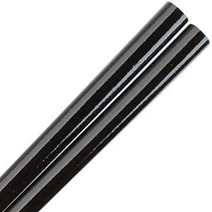 Black Glossy Painted Japanese Style Chopsticks