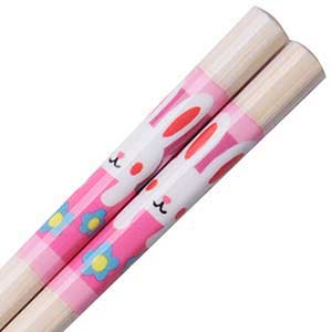 Bunny Japanese Childrens Chopsticks