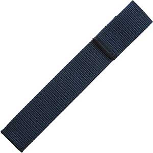 Chopstick Sleeve Navy Blue Colored Webbing Closed-Top