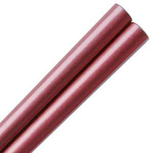 Cranberry Pearlescent Japanese Chopsticks