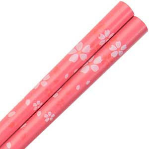 Dogwood Flower Blossoms Pink Japanese Style Chopsticks