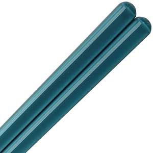 Gradations of Light Blue Chopsticks