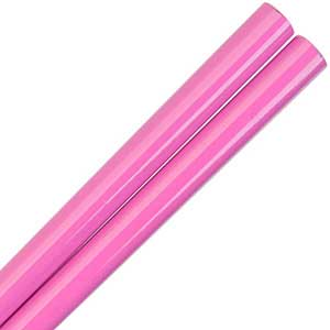 Hot Pink Glossy Painted Japanese Style Chopsticks