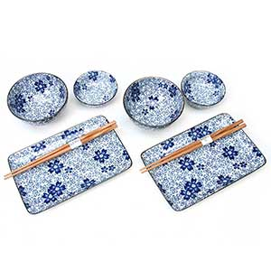 Sakura Blossoms Japanese Dinnerware Set