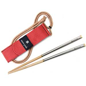 Snow Peak Deluxe Carry-On Travel Japanese Chopsticks
