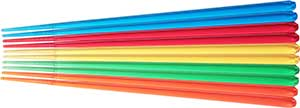 Vivid Color Clear Chopsticks