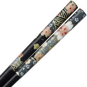 Washi Grey Edo Yozakura Chopsticks