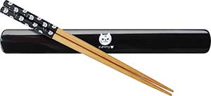 Yummy Cat Chopsticks and Box Set