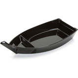 Sushi Serving Tray, Black Boat