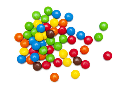 Record Set for Eating M&Ms with Chopsticks