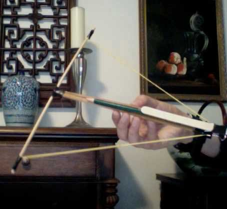 Build a Crossbow Using Chopsticks