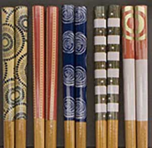 Stylish Bamboo Japanese Chopsticks Set