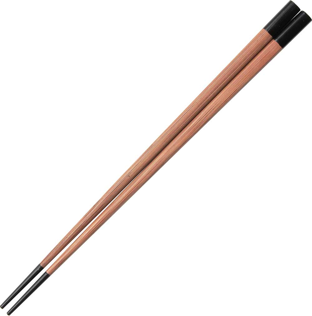 Bamboo Black Tipped Chopsticks