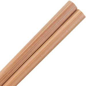 Bamboo Straight Carbonized Japanese Style Chopsticks