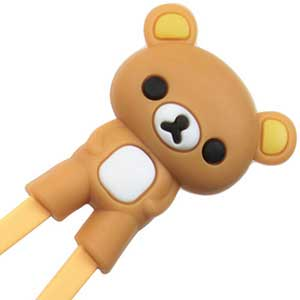 *Bear Fun Childrens Helper Chopsticks Brown Bear Chopstick Helper brown, childrens chopsticks, chopstick aides, childrens helping chopsticks, helper chopsticks, bear chopsticks, brown chopsticks, childrens helper chopsticks, childrens training chopsticks