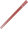 Cherry Blossom Branch on Red Japanese Style Chopsticks