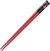 Cherry Blossoms on Red Japanese Style Chopsticks