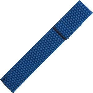Chopstick Sleeve Blue Colored Webbing Closed-Top Closed Top Webbing Chopstick Sleeve, Chopstick Sleeve, nylon webbing chopstick sleeve, webbing chopstick sleeve, travel chopstick sleeve, portable chopstick sleeve, travel chopsticks sleeve