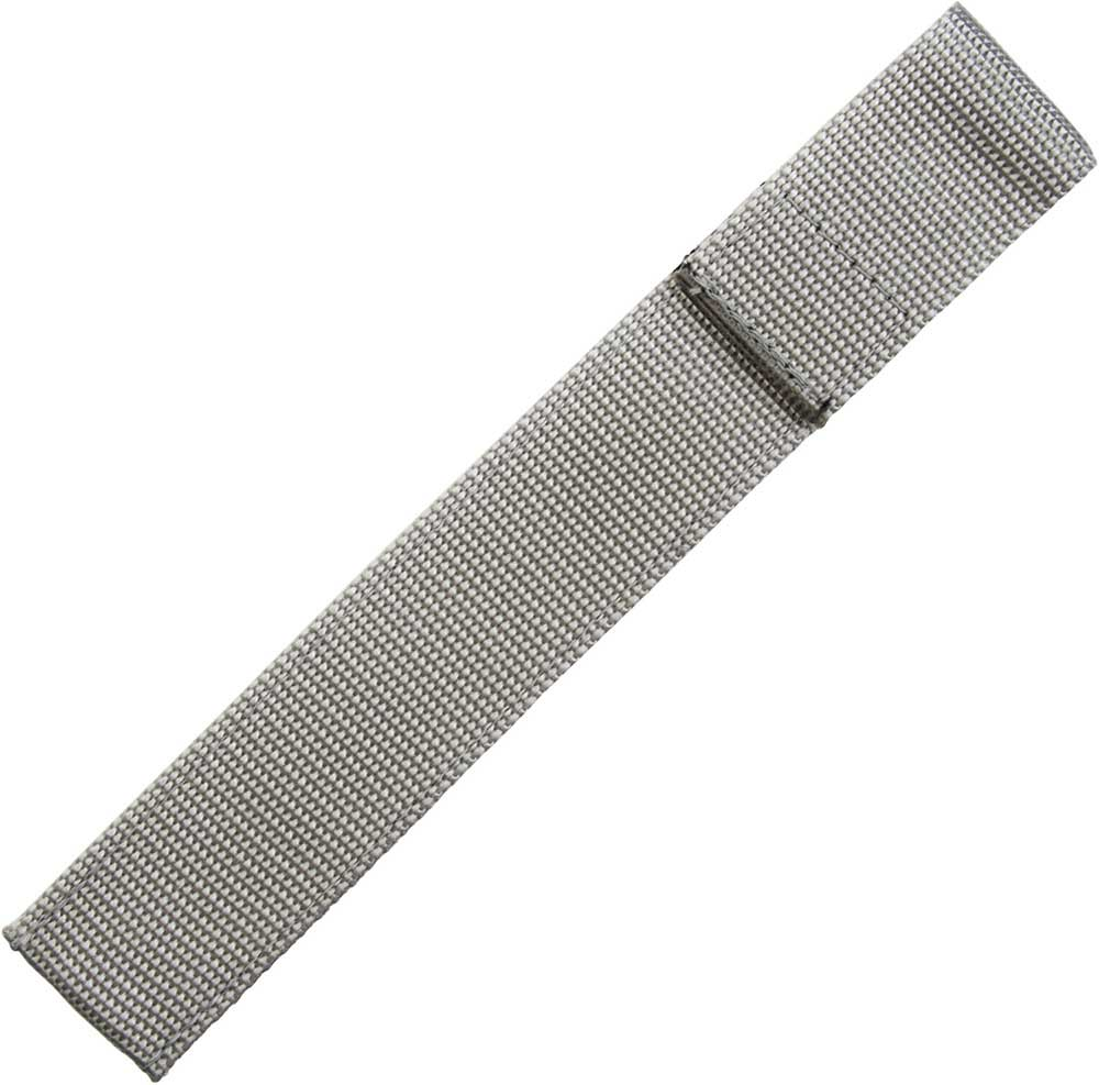 Chopstick Sleeve Gray Colored Webbing Closed-Top
