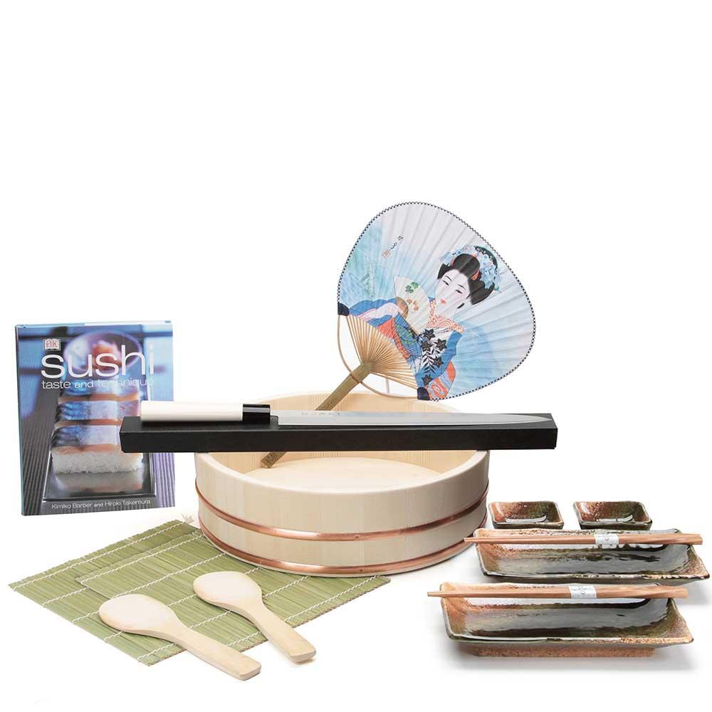 deluxe sushi starter set. Black Bedroom Furniture Sets. Home Design Ideas