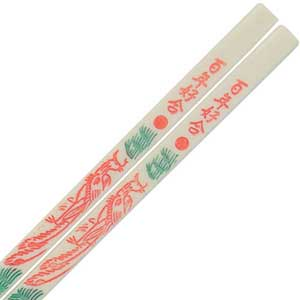 Dragon Melamine Plastic Dishwasher Safe Chinese Chopsticks
