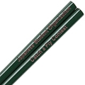 Forest Green Engraved Personalized Chopsticks