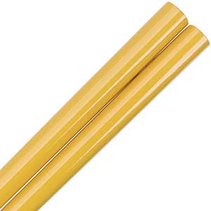 Honey Gold Glossy Painted Japanese Style Chopsticks