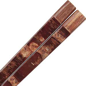 Kabazaiku Cherry Bark and Ironwood Japanese Chopsticks