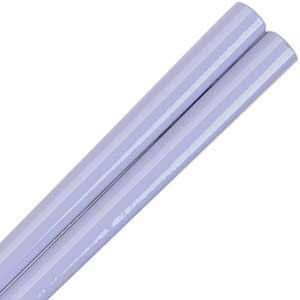 Lilac Glossy Painted Japanese Style Chopsticks