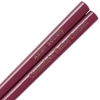 Maroon Engraved Personalized Chopsticks