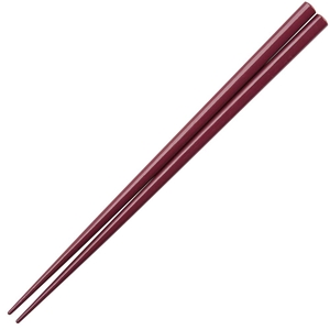 Maroon Glossy Painted Japanese Style Chopsticks