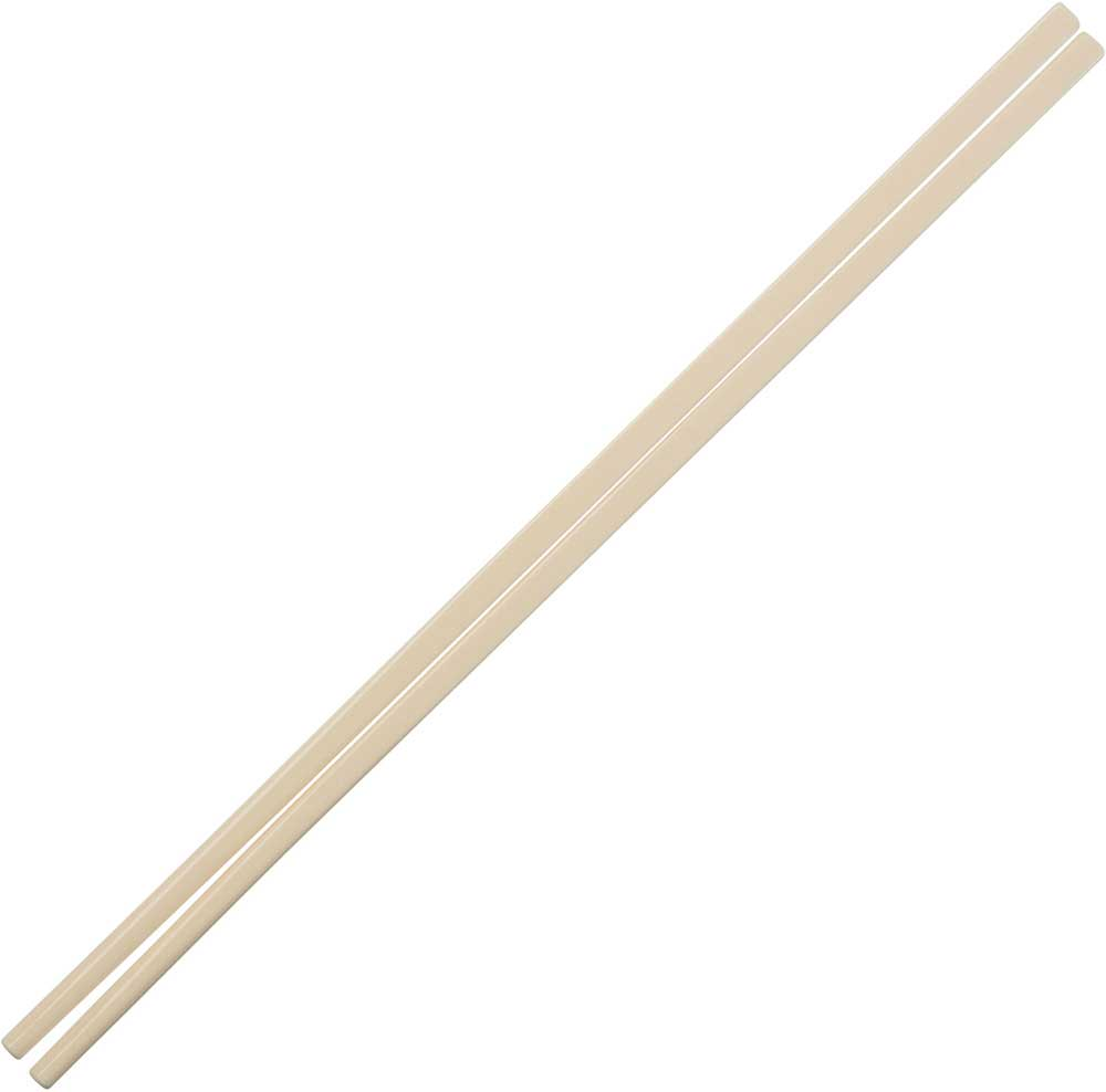 Melamine Plastic Dishwasher Safe Chinese Chopsticks in Ivory