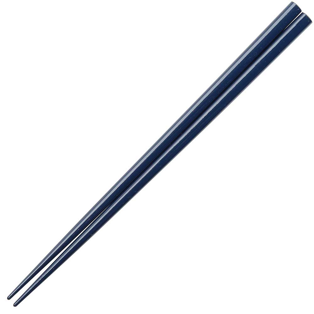 Navy Blue Glossy Painted Japanese Style Chopsticks