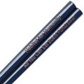 Navy Engraved Personalized Chopsticks