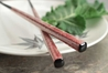 Nishijin Chopsticks Rust on Black