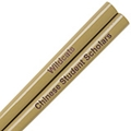 Old Gold Engraved Personalized Chopsticks