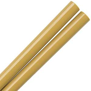 Old Gold Glossy Painted Japanese Style Chopsticks