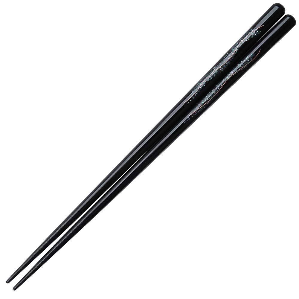 Shimmer Black Japanese Chopsticks