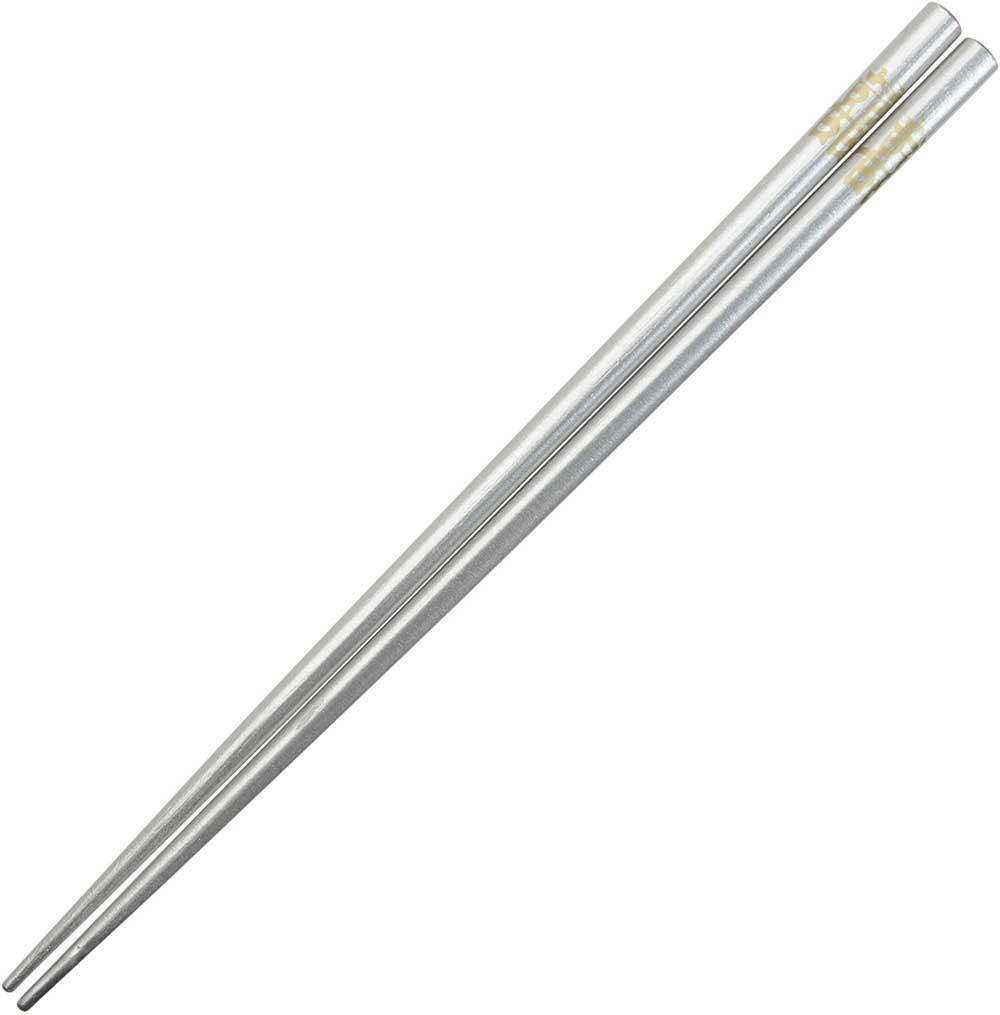 Double Happiness Japanese Style Silver Chopsticks