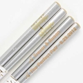 Silver Double Happiness Engraved Personalized Chopsticks