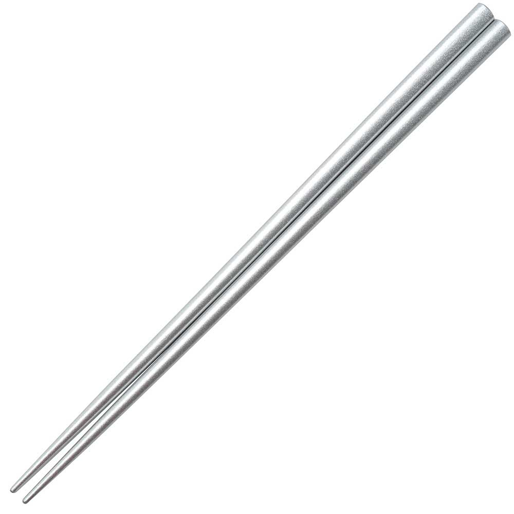 Silver Glossy Painted Japanese Style Chopsticks