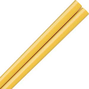 Slender Nippon Yellow Japanese Chopsticks