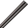Square Stainless Steel Chopsticks Black Color