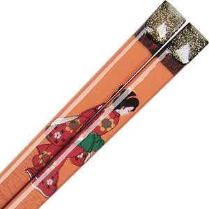 Summer Geisha Japanese Chopsticks
