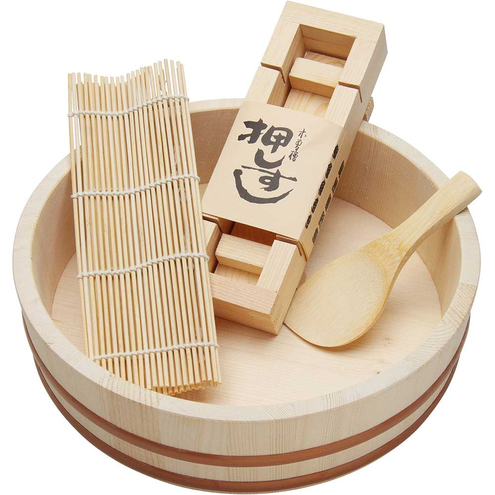 Sushi Starter Set - 4 Piece Wooden Sushi Set