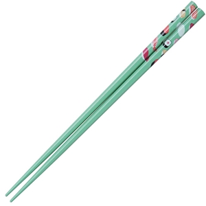 Sushi on Green Japanese Chopsticks