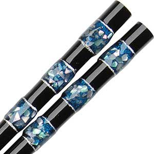 Wakasa Kai Sen Black Japanese Chopsticks Wakasa Kai Sen chopsticks, Wakasa Japanese Chopsticks, wakasa chopsticks, japanese chopsticks, carved chopsticks, layered lacquer chopsticks, mother of pearl chopsticks, black chopsticks