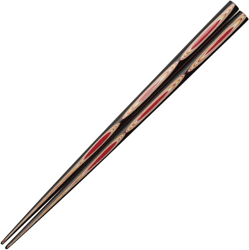 Wakasa Nasu Red Japanese Chopsticks